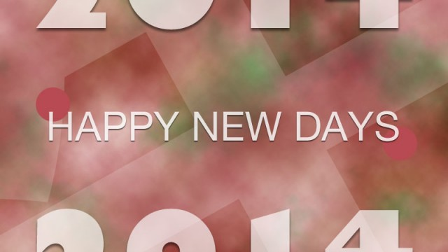 HAPPYNEWDAYS2014